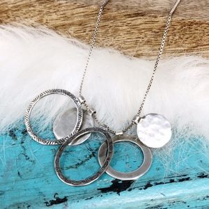 Silpada Sterling Silver Most Clever Necklace N2911